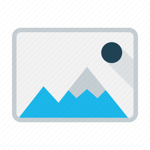 business, gallery, image, photo, picture, presentation icon