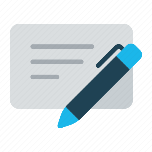 agreement, business, document, register, registration, sign, write icon