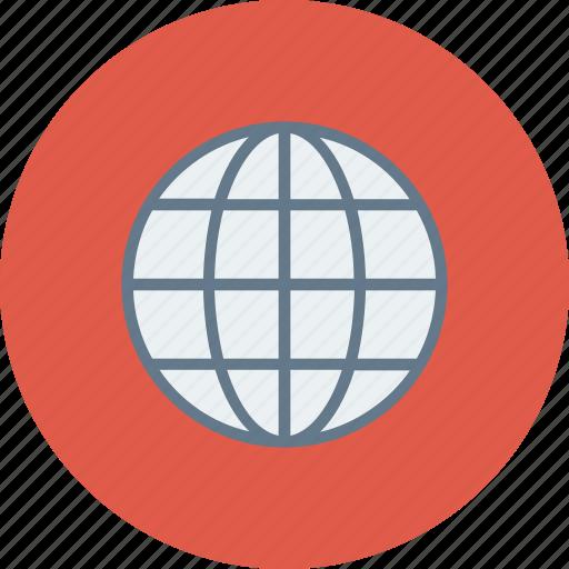 blue, global, globe, international, language, travel, world icon icon