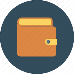 billfold, cash, money, payment, pouch, purchase, wallet icon icon