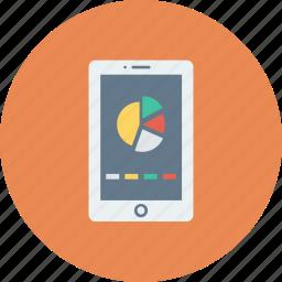 analytics, analytics app, app, mobile, report icon icon