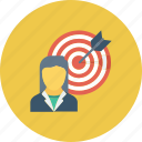 customer target, marketing, seo, target user, user target icon icon