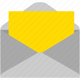 contact, email, envelope, inbox, message, unread icon
