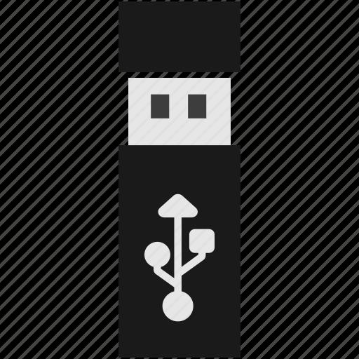 data, device, flash, hardware, storage, usb icon