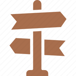 decision, direction sign, indication sign, navigation, road sign icon
