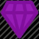 brilliant, crystal, diamond, gem, gemstone, stone icon