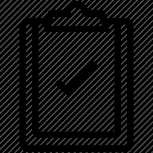 checklist, clipboard, creative, document icon icon