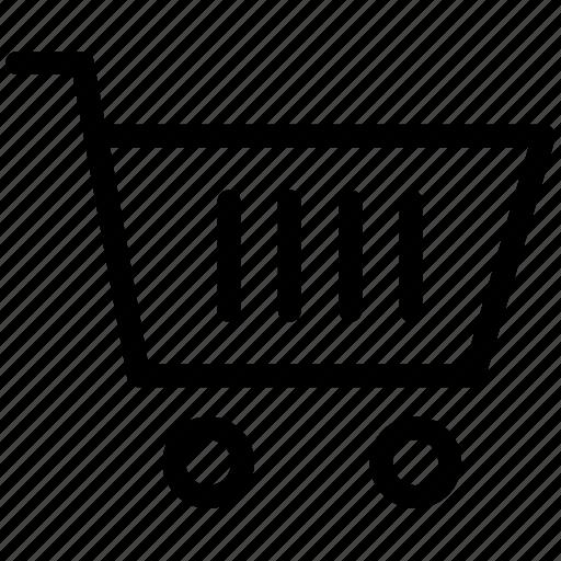 basket, buy, cart, checkout, retail, shop, shopping icon icon