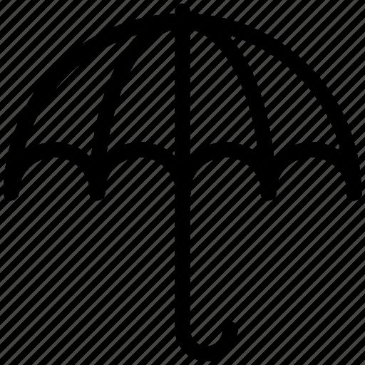 canopy, insurance, parasol, protection, rain, shield, umbrella icon icon