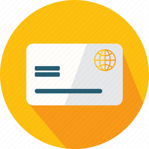 bank, business, card, credit, money, payment, store icon