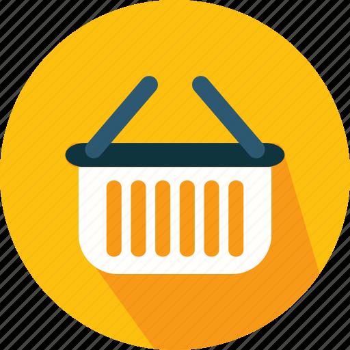 basket, commerce, online, shopping, supermarket icon