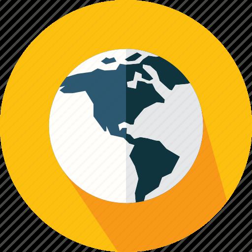 earth, geography, global, maps, planet, worldwide icon