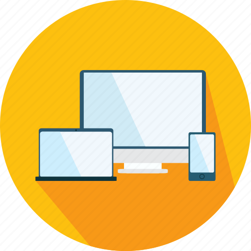 design, interface, monitors, responsive, screens, tool icon