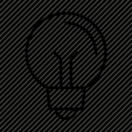 bulb, idea, lamp, light, lightbulb icon