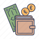 bag, cash, money, purse, wallet icon