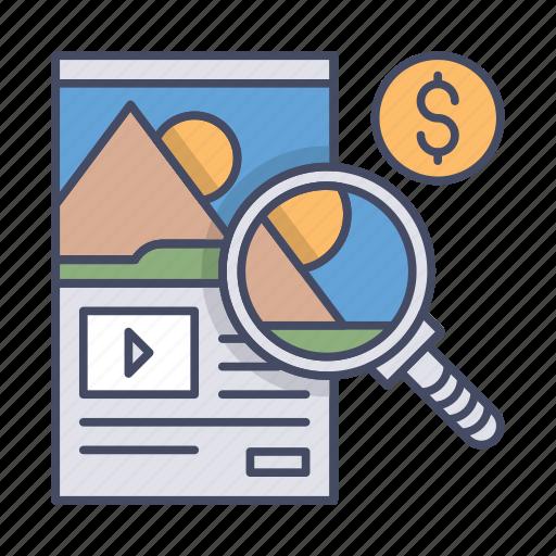 blog, cms, content, image, management, web, website icon