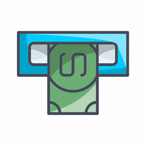 Atm, money, transaction icon - Download on Iconfinder