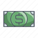 banking, currency, dollar, money, payment icon