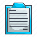 notes, survey icon
