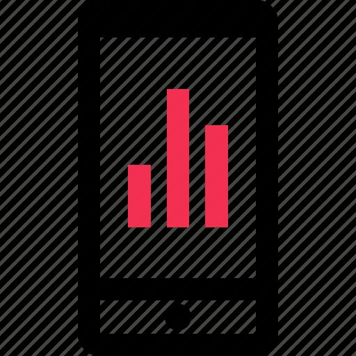analyze, bars, business, data icon