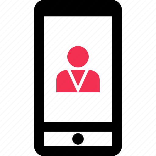 business, cell, phone, user icon