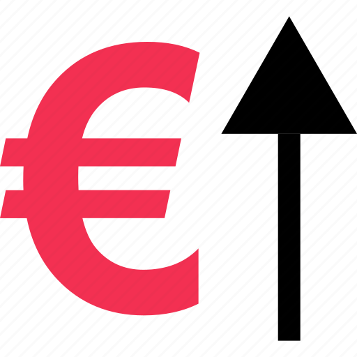 business, currency, euro, high, money, sign icon