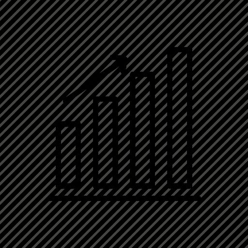 analytics, bar, bar graph, data, graph, growth, statistics icon
