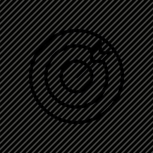 business, crosshair, dart, dartboard, seo, success, target icon