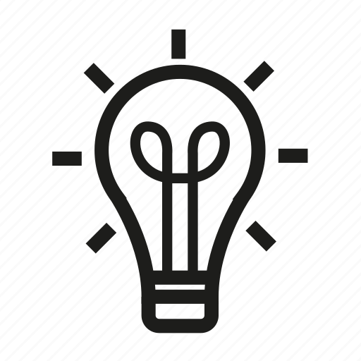 bulb, business, finance, idea icon