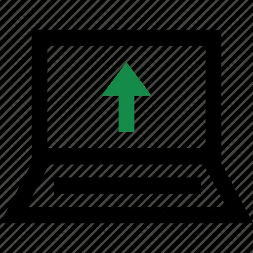 arrow, internet, up, upload icon