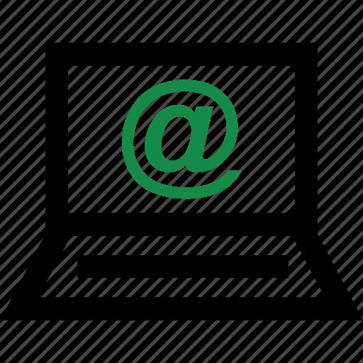 address, internet, mail icon