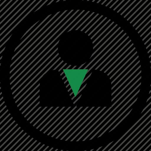 boss, internet, profile, user icon