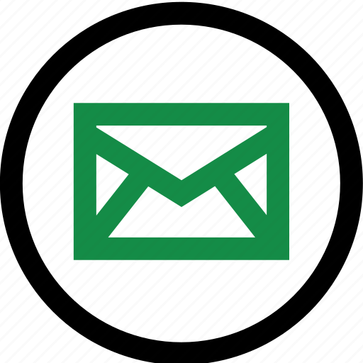 address, contact, mail icon