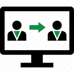 communicaiton, profile, users icon