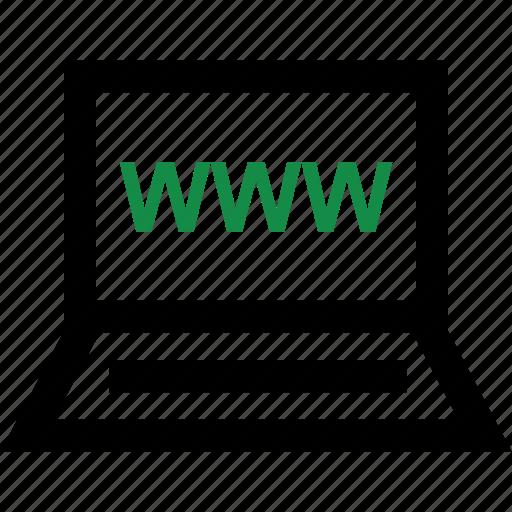 online, website, www icon