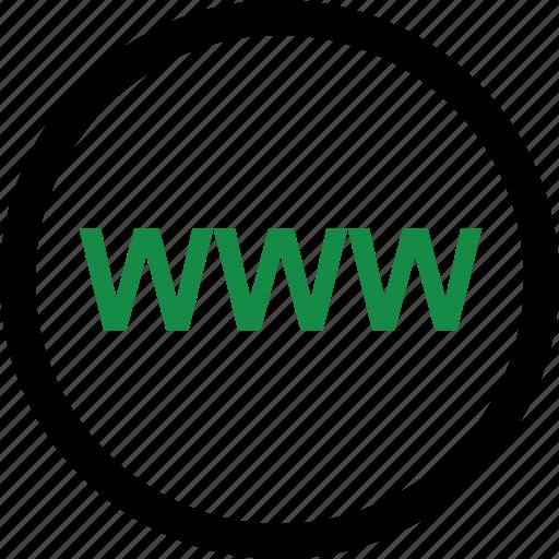 visit, website, www icon