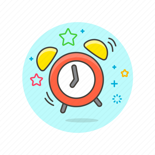 alarm, business, clock, snooze, time, up, wake icon