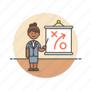 business, plan, strategy, idea, presentation, woman, goal