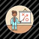 business, plan, strategy, growth, idea, man, presentation