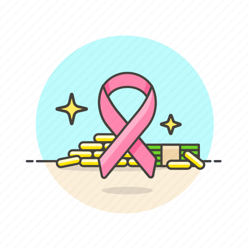 business, cash, financial, money, reminder, ribbon icon