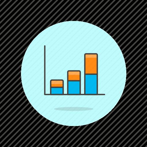 analytics, bar, business, chart, finance, graph, growth icon