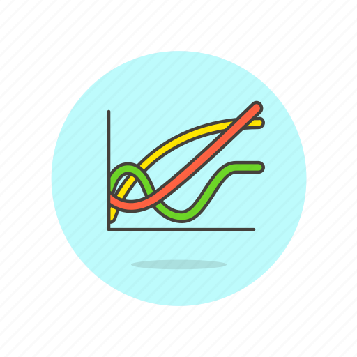 analytics, business, chart, finance, graph, growth, line icon