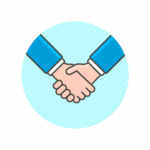 agree, business, deal, gesture, hand, partner, shake icon