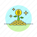 business, investment, money icon