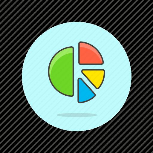 analytics, business, chart, finance, graph, growth, pie icon