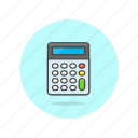 business, calculator, device, finance, machine, office icon
