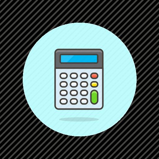 business, calculator, device, finance, machine, office icon