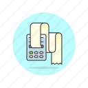 business, printer, receipt icon