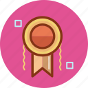 award, cube, medal, square, trophy icon