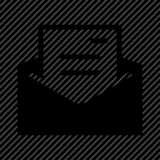 communication, envelope, letter, mail, message icon
